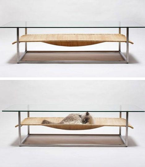 Cat Hammock Table