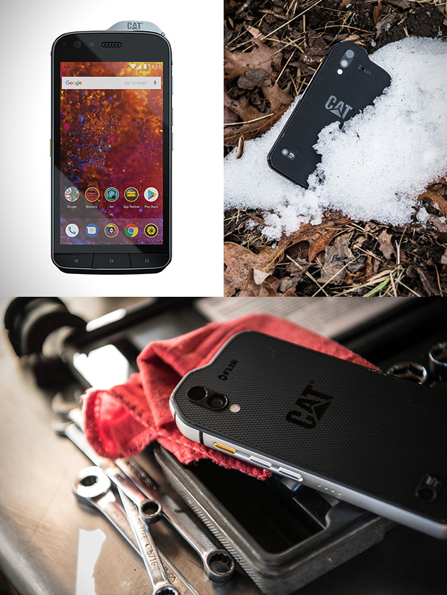 Chat S61 Smartphone Robuste avec l'Imagerie Thermique FLIR et 15 de Plus Intéressant Images