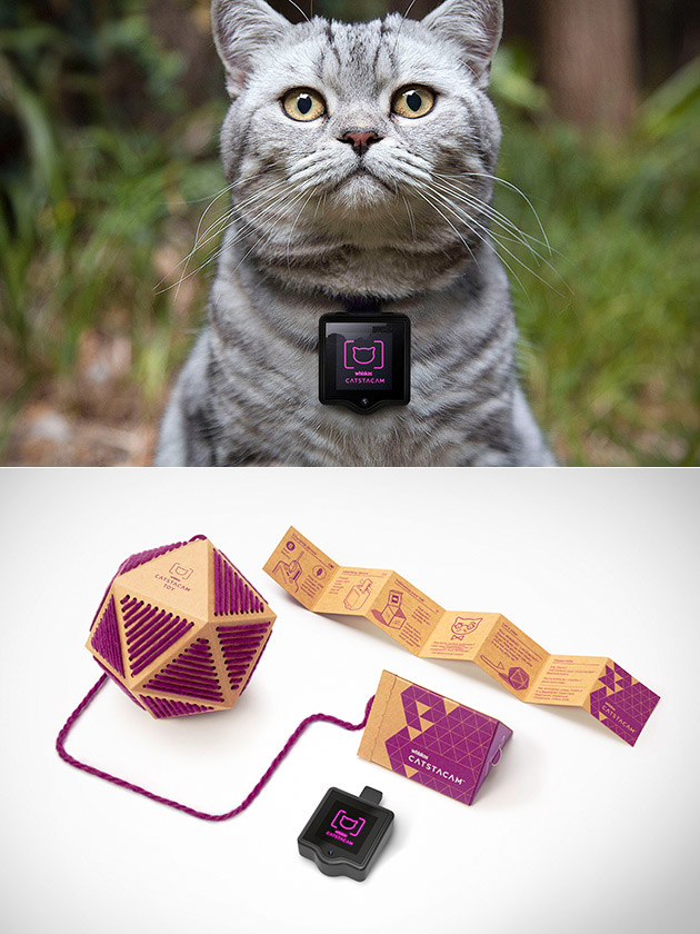 Catstacam Wearable Cat Camera