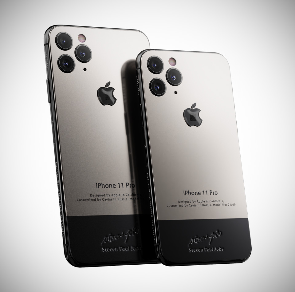 Caviar iPhone 11 Pro Superior Jobs