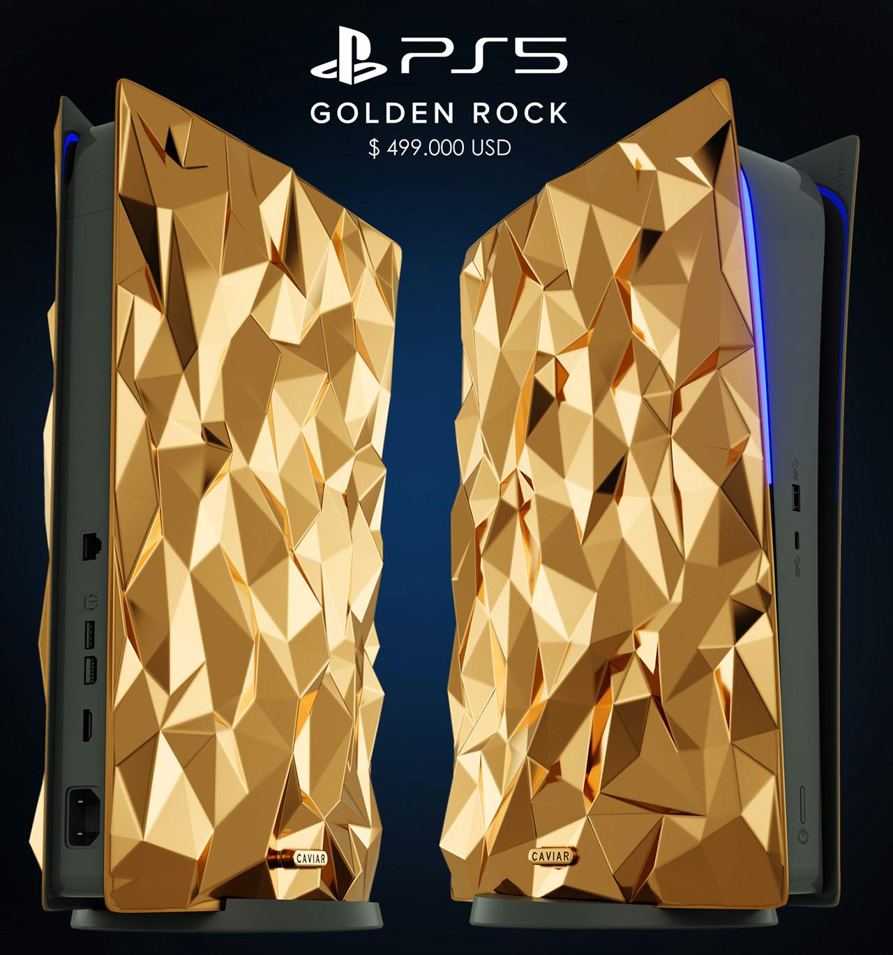 Caviar PlayStation 5 Golden Rock Edition