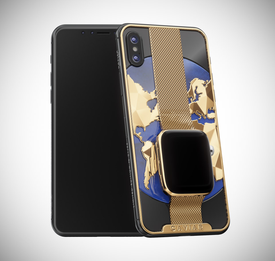 Caviar Swiss Dreams iPhone Apple Watch