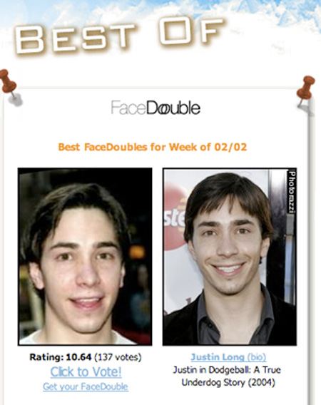 Alike who look is celebrity your pictriev, face