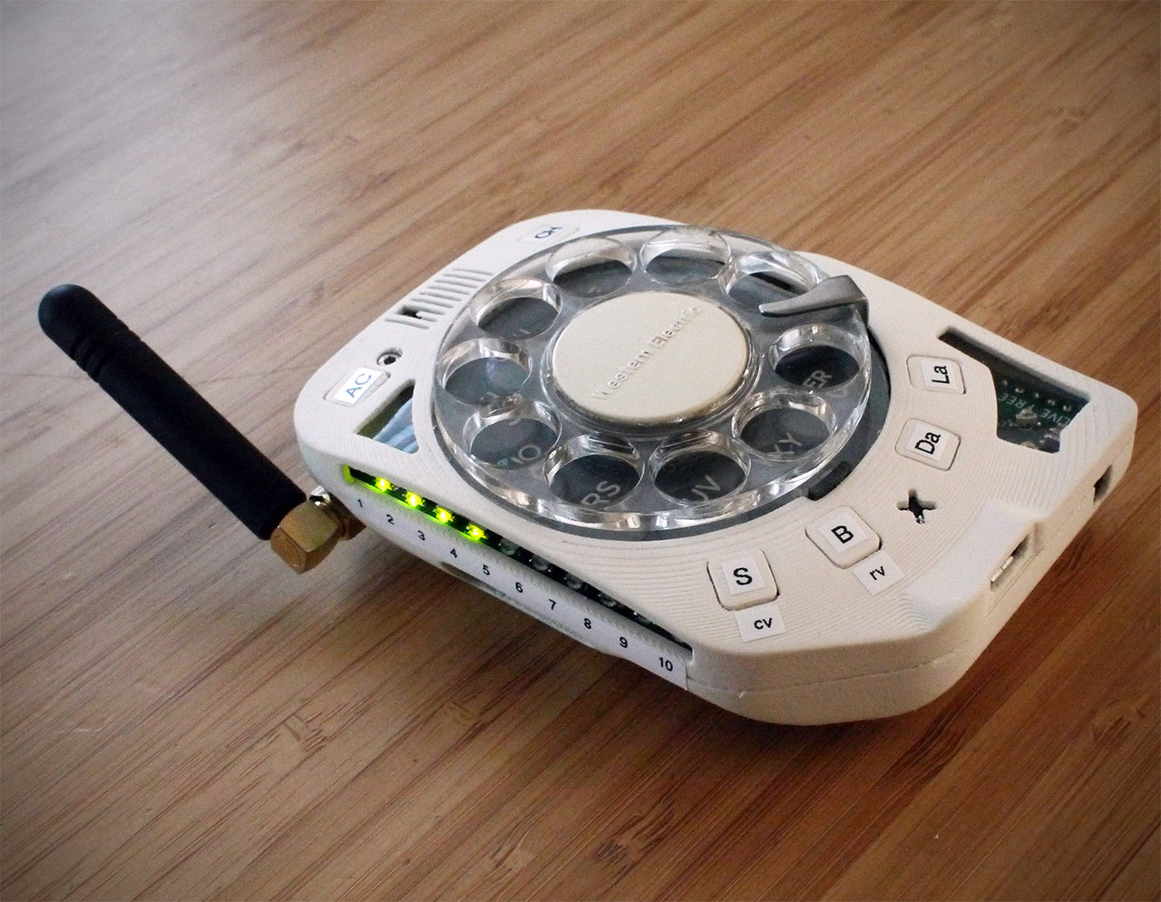 Cell Phone Rotary Dial