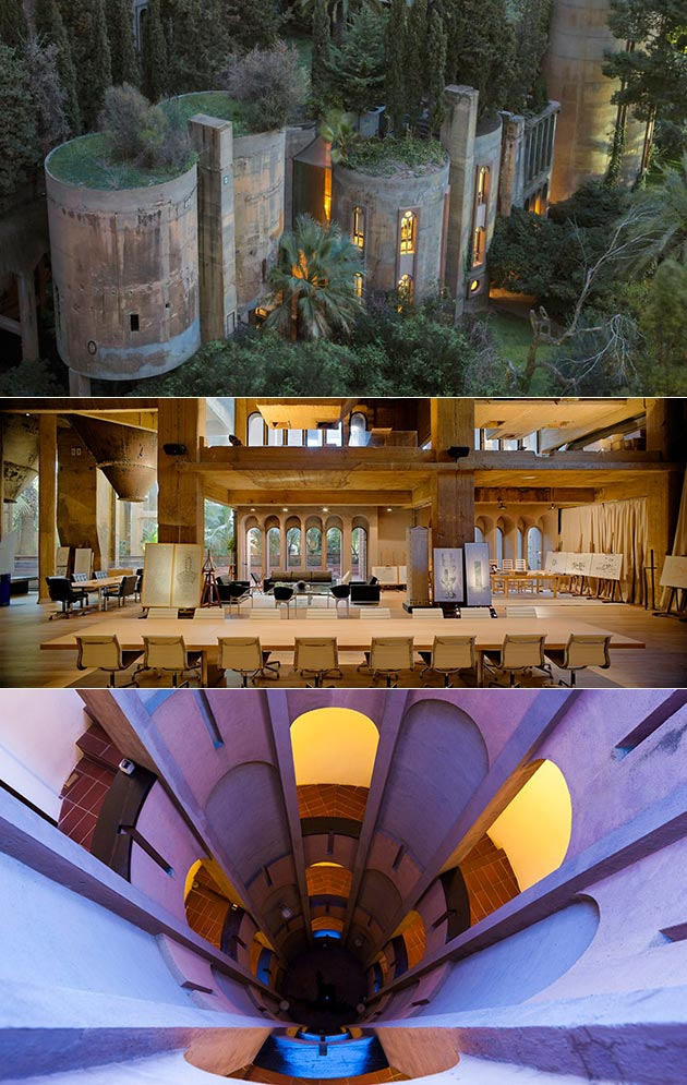 Cement Factory Home