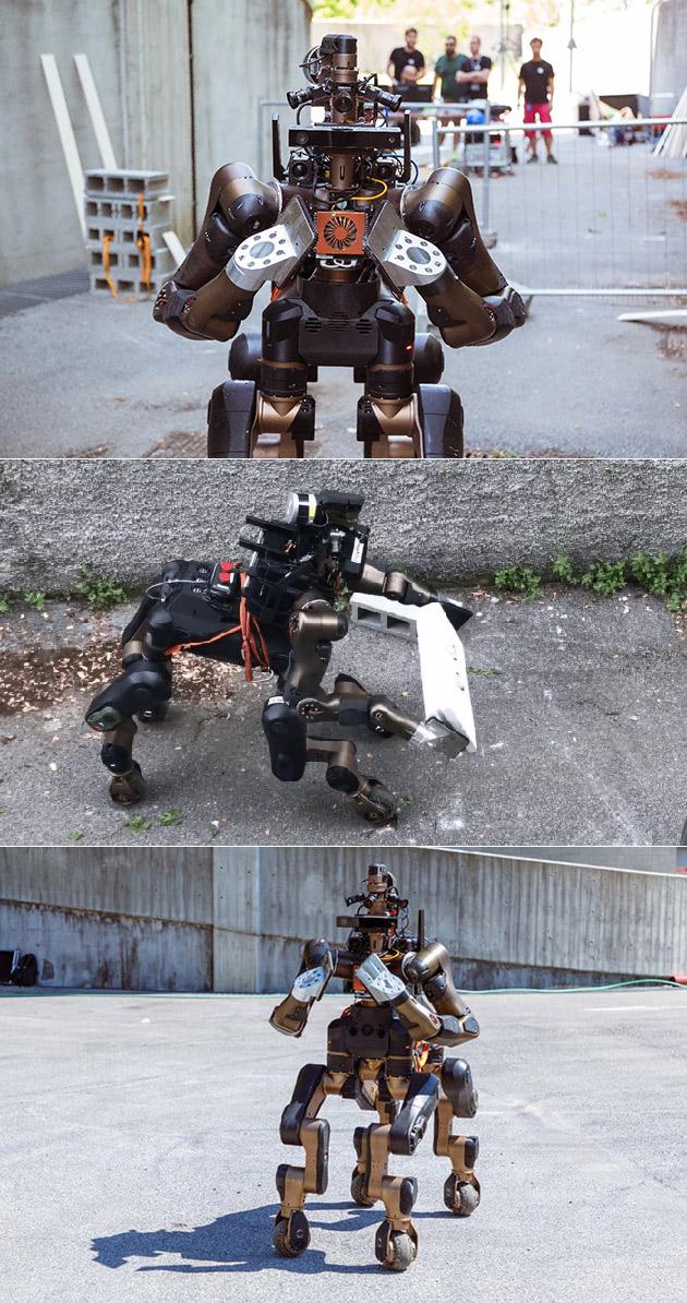 Centauro Rescue Robot