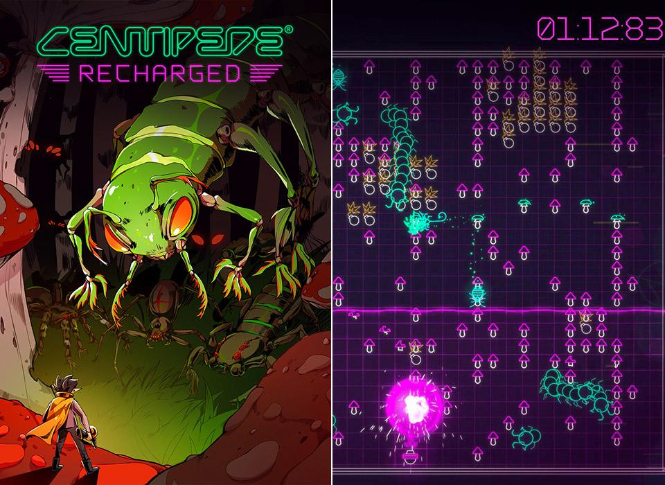 Centipede Recharged Atari