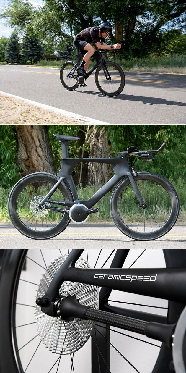 CeramicSpeed Chainless Bike Drivetrain