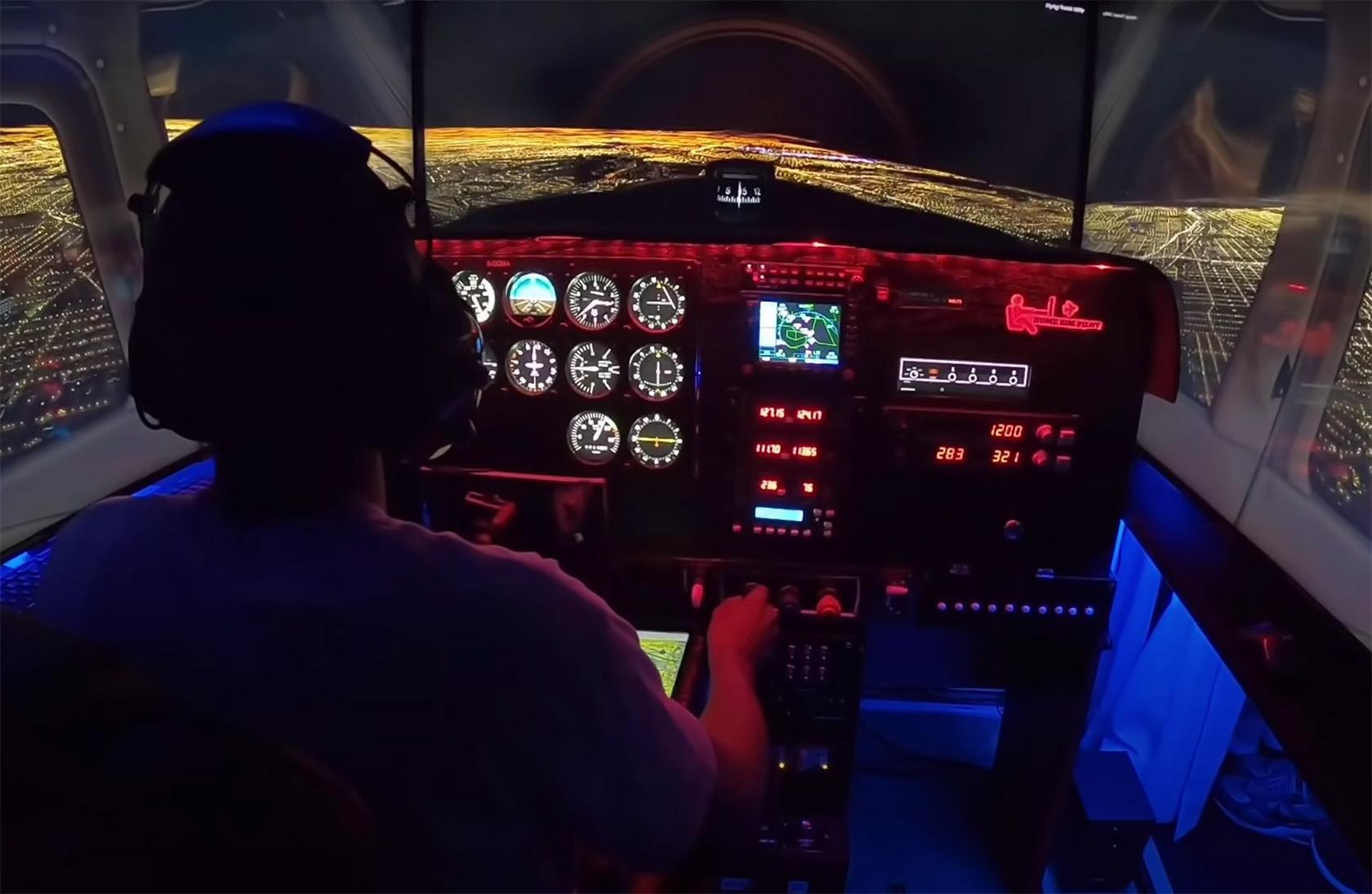 Cessna Home Flight Simulator