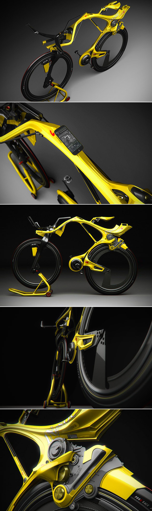 Chainless Hybrid Bike