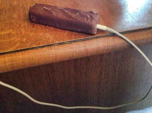 Charging Chocolate Bar