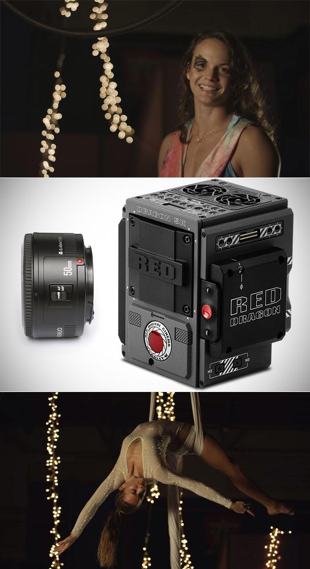 Cheap Lens RED Camera