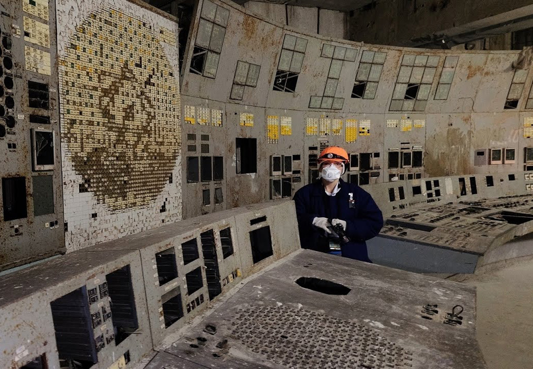 Chernobyl Reactor Room