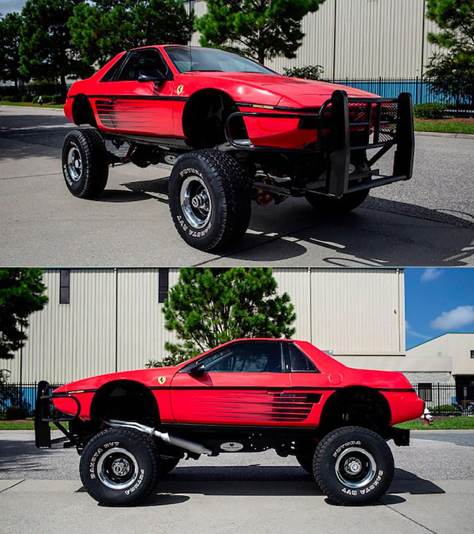 Chevy Blazer Pontiac Fierro Ferrari 4x4