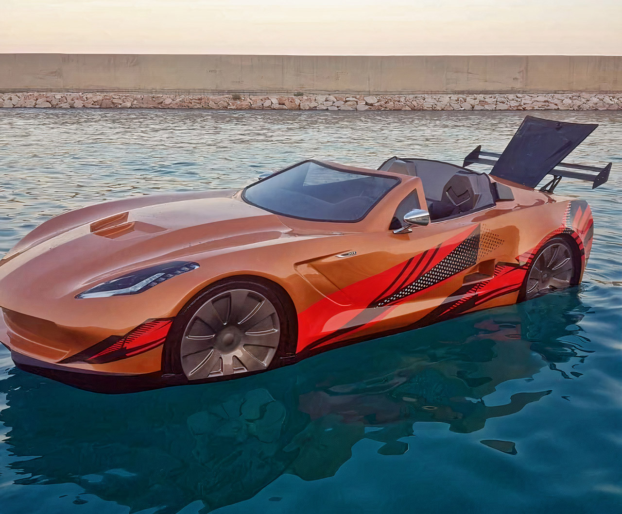Chevy C7 Corvette Boat