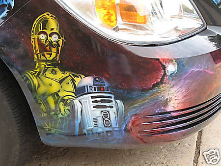 Ebay watch chevy cobalt with star wars paint job techeblog if youre a star wars fan this chevy cobalt on ebay is a must have its star wars themed paint job features han solo frozen in carbonite with a stunning publicscrutiny Gallery