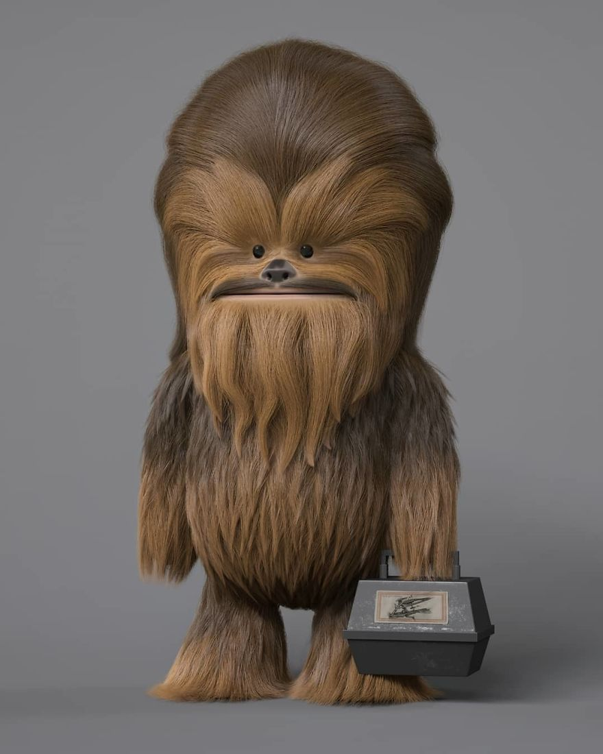 Chewbacca Cartoon