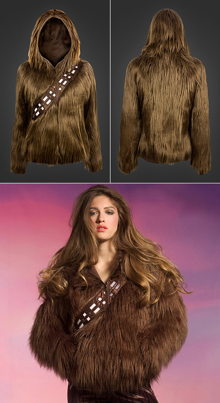 Chewbacca Hoodie Turns You Into A RealLife Wookiee TechEBlog - Hoodie will turn you into chewbacca from star wars