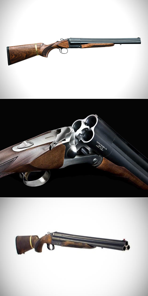 Chiappa Triple Threat Triple-Barreled Shotgun