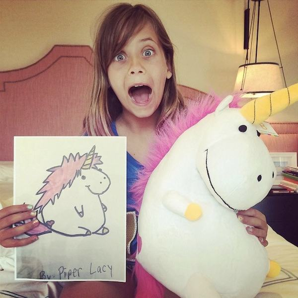 Children's Drawings Into Stuffed Animals
