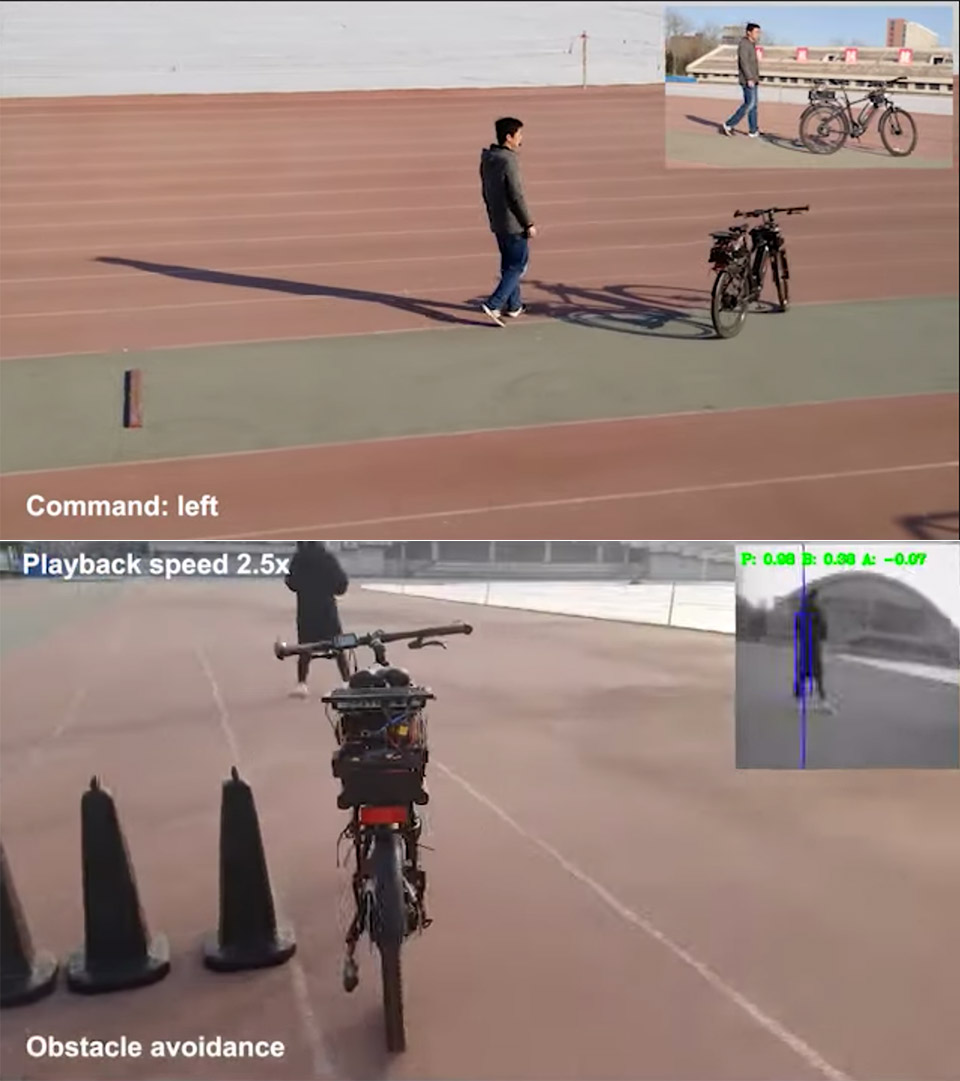 China Autonomous Bicycle Tianjic Chip