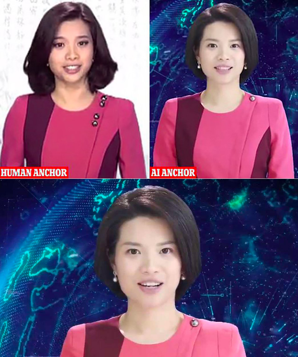 China First Female AI News Anchor