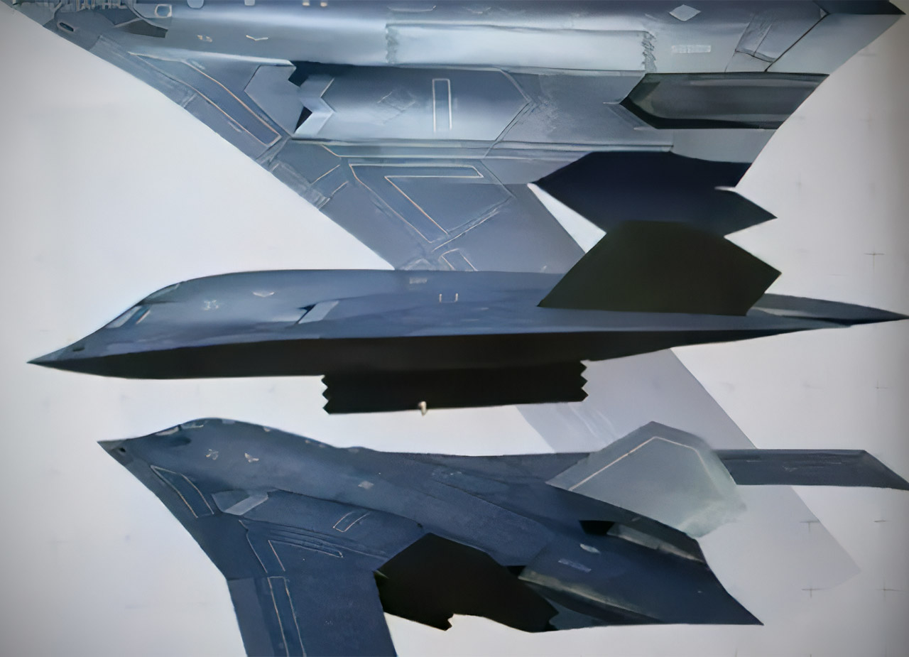 China God of War Xian H-20 Stealth Bomber