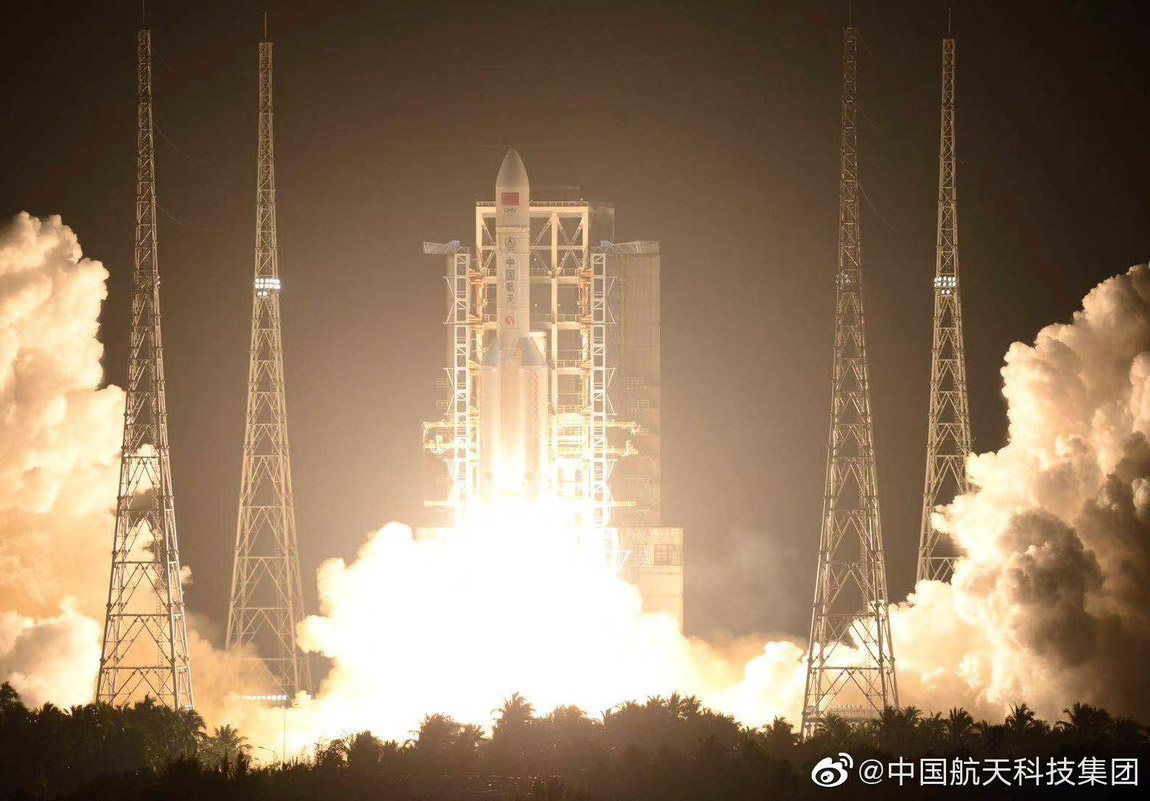 China Long March 5 Rocket