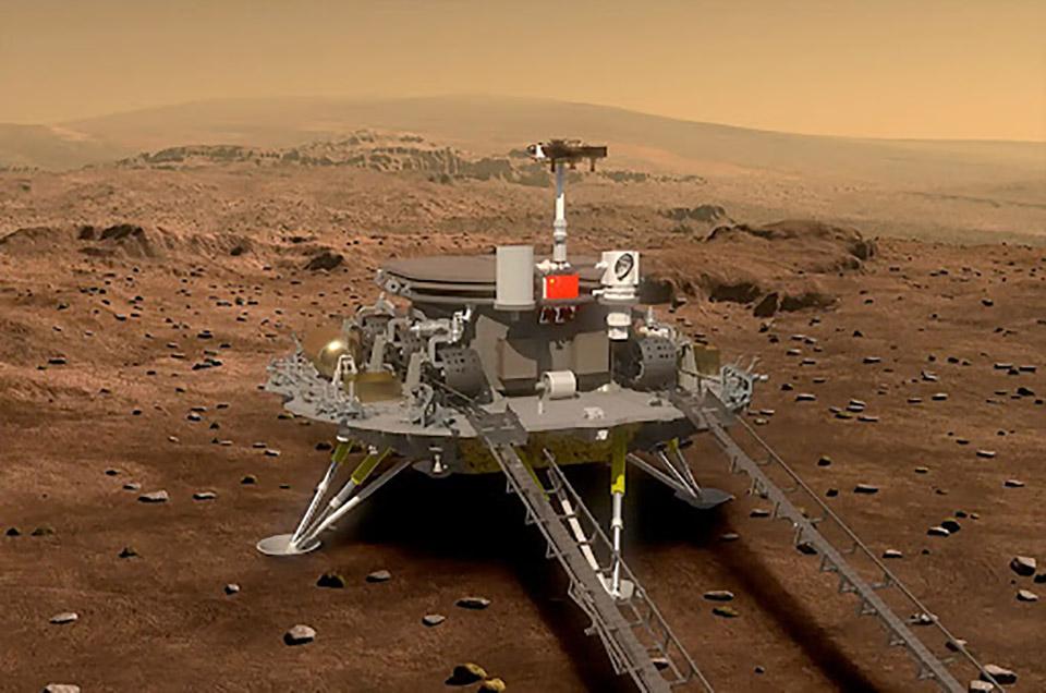 China Mars Tianwen 1