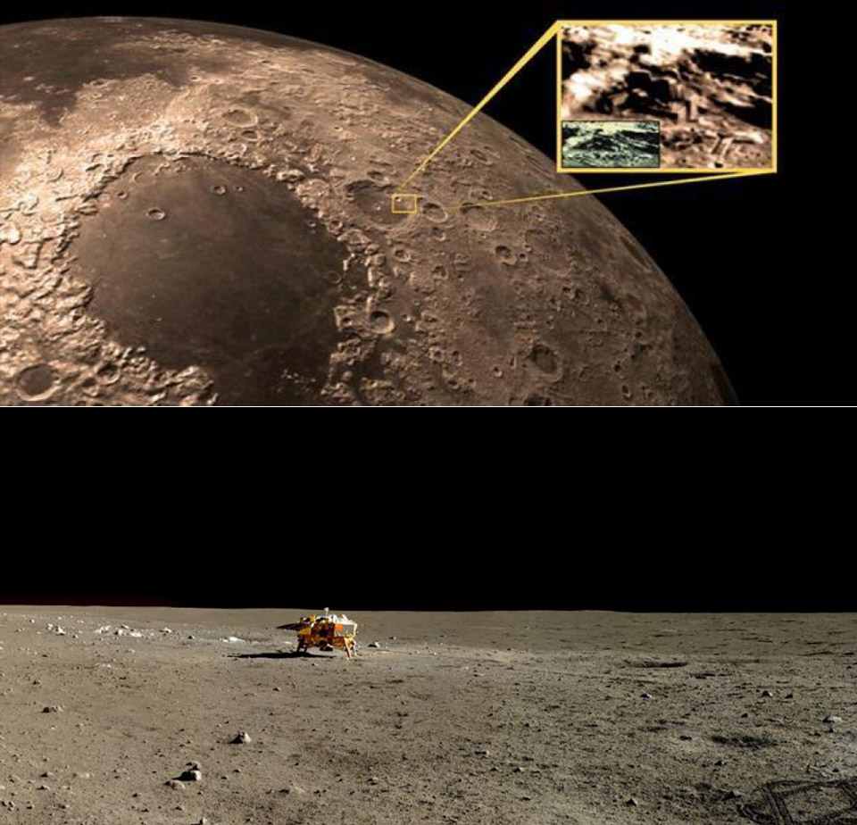 China Probe Far Side of the Moon