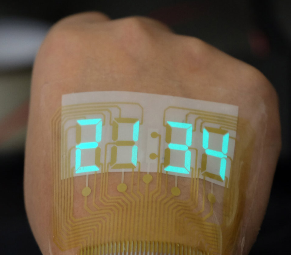 China Stretchable Display