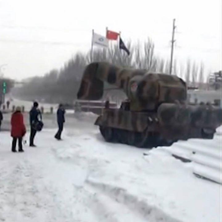 China Tank Snow