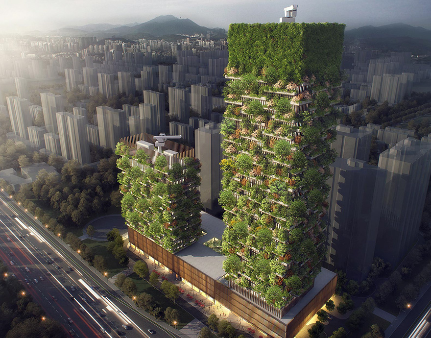 China Vertical Forest