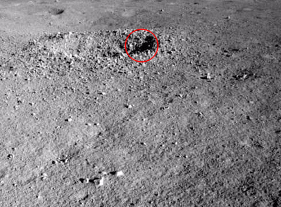 China Yutu-2 Lunar Rover Gel Far Side Moon