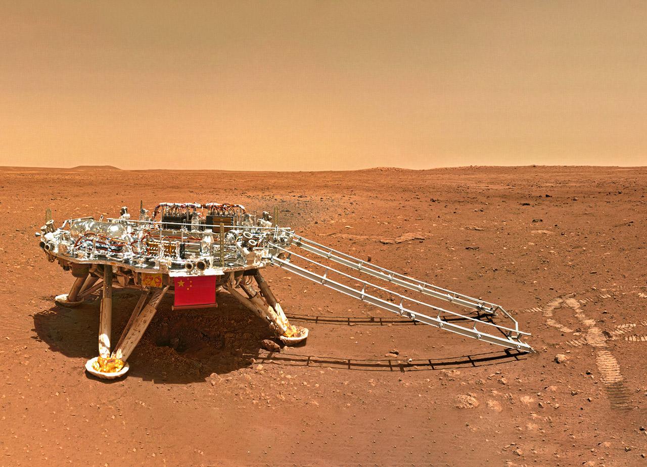 China Zhurong Rover Video Audio Mars