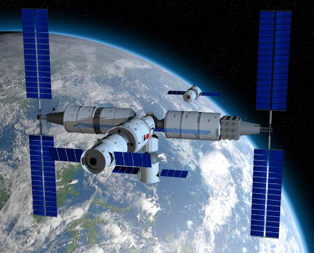 Chinese Large Modular Space Station China ISS