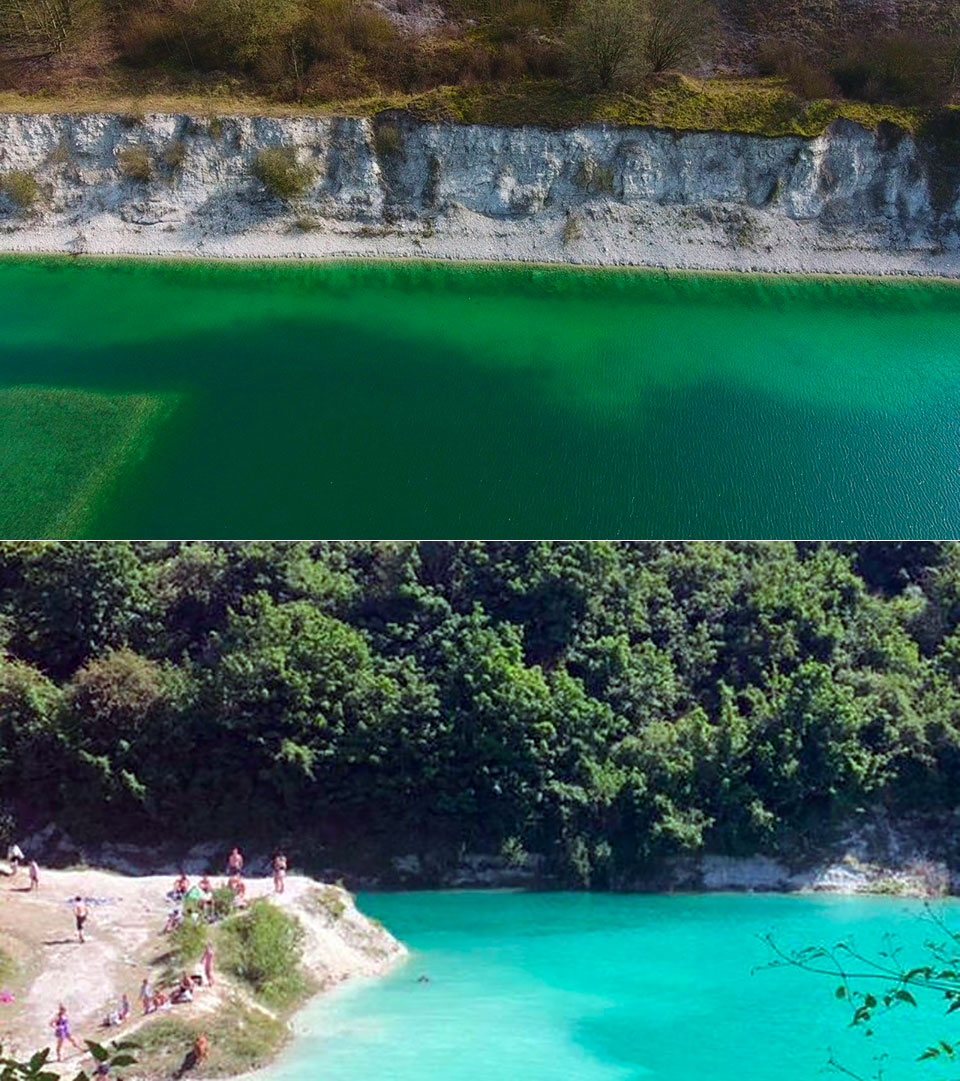 Chinnor Quarry Water Lagoon