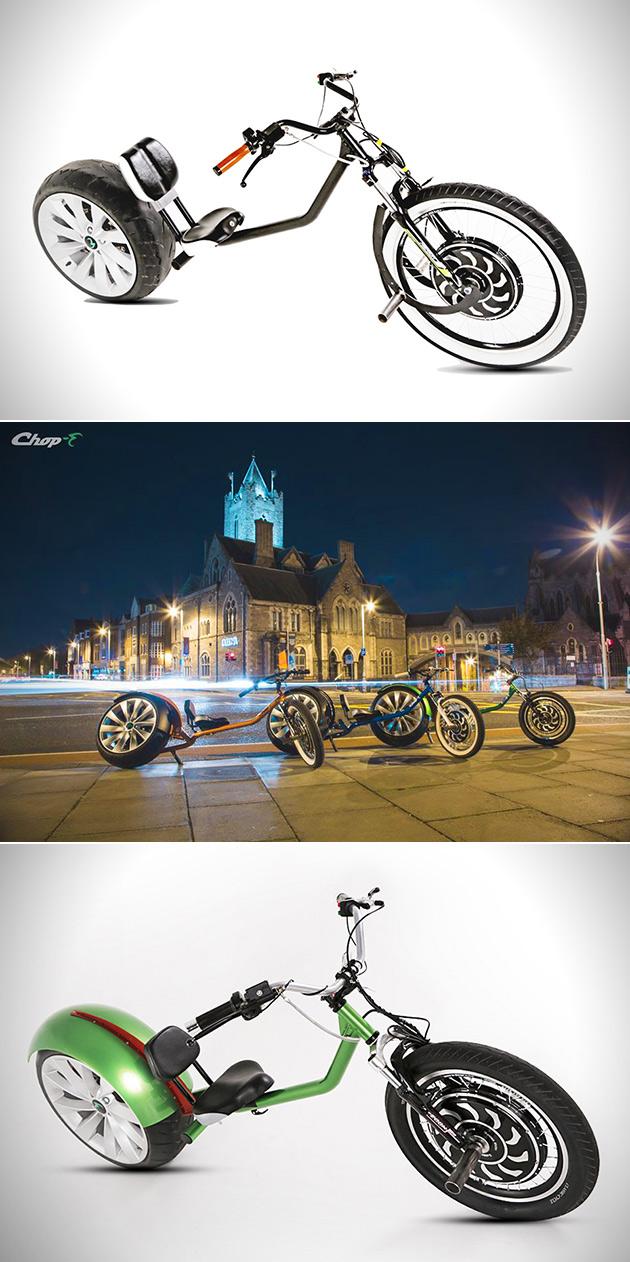 Chop-E Electric Bike Chopper