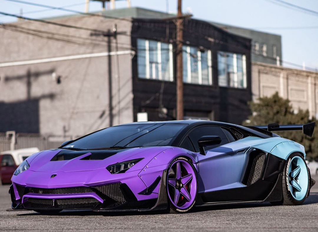 Chris Brown Lamborghini Aventador Widebody