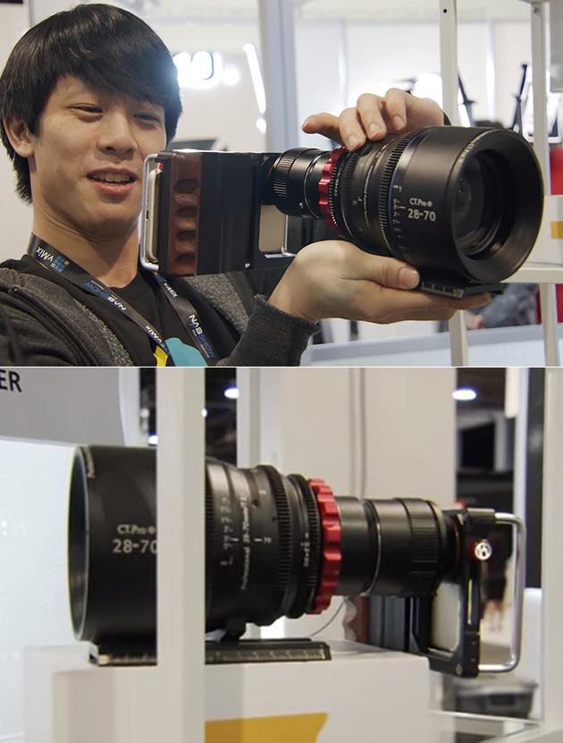 Cinema Lens Smartphone Adapter