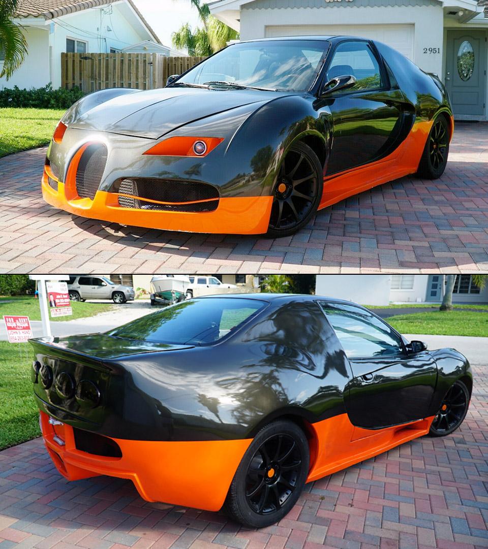 CivicGatti Honda Civic Bugatti Veyron