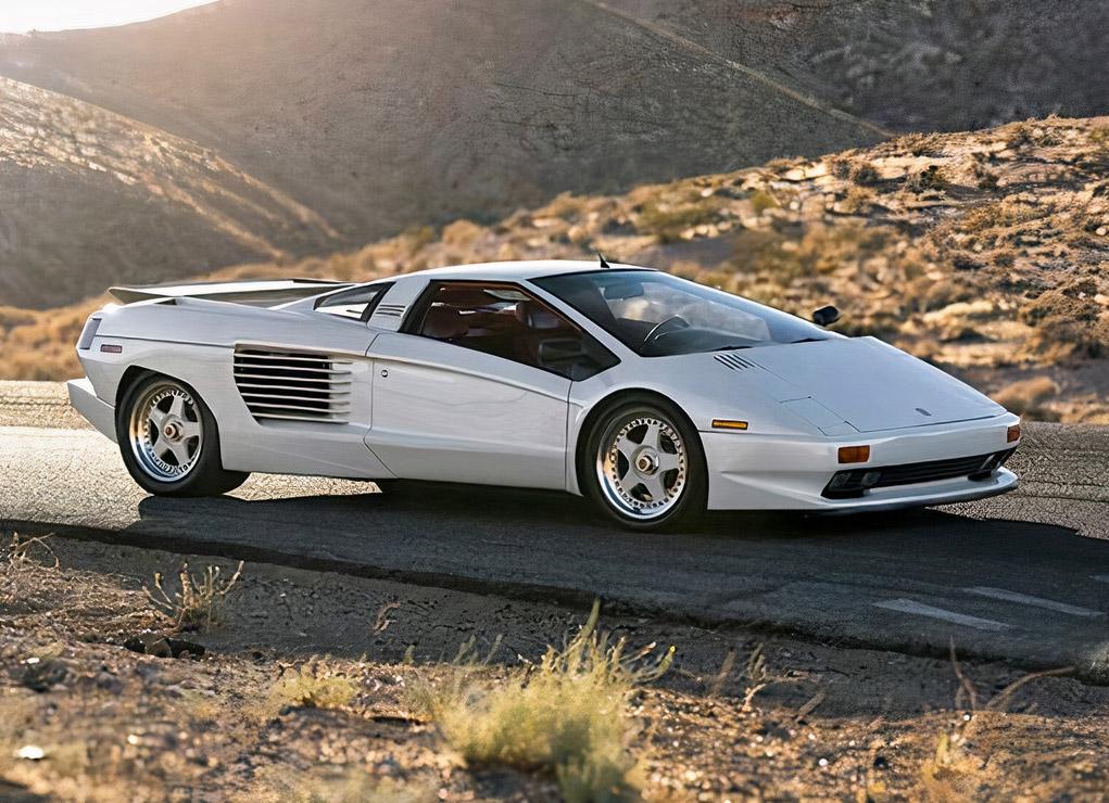 Cizeta Moroder V16T Lamborghini Supercar V16 Engine