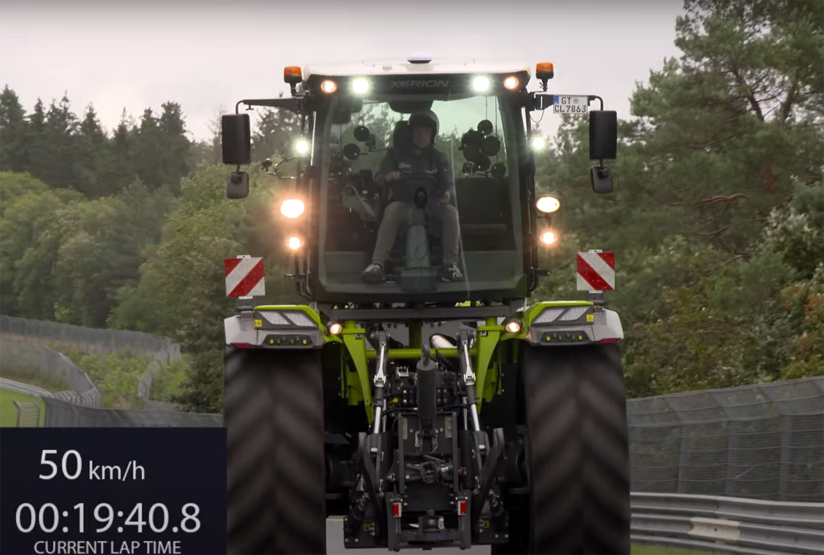 Claas Xerion 5000 Trac VC Tractor Nurburgring