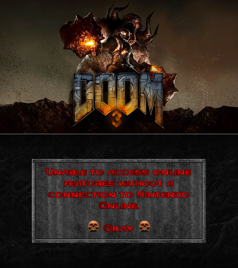 Classic DOOM Games Nintendo Switch