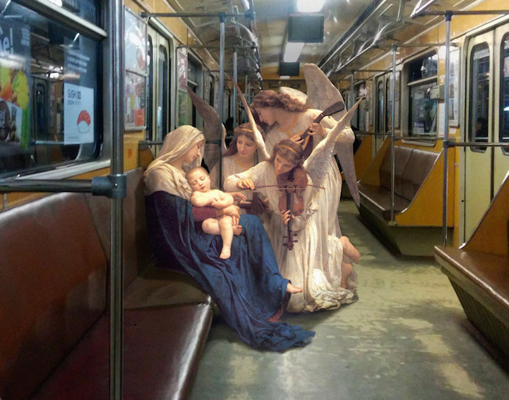 Classical Paintings Real World