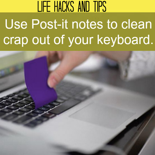 Cleaning Keyboard Hack