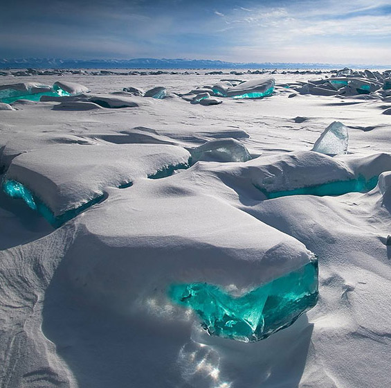 Clear Ice Block