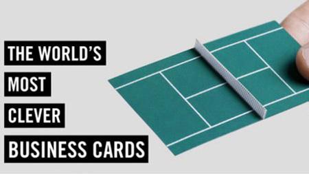 21 plus de cartes de visite extrêmement intelligent qui feront vous regardez à deux fois