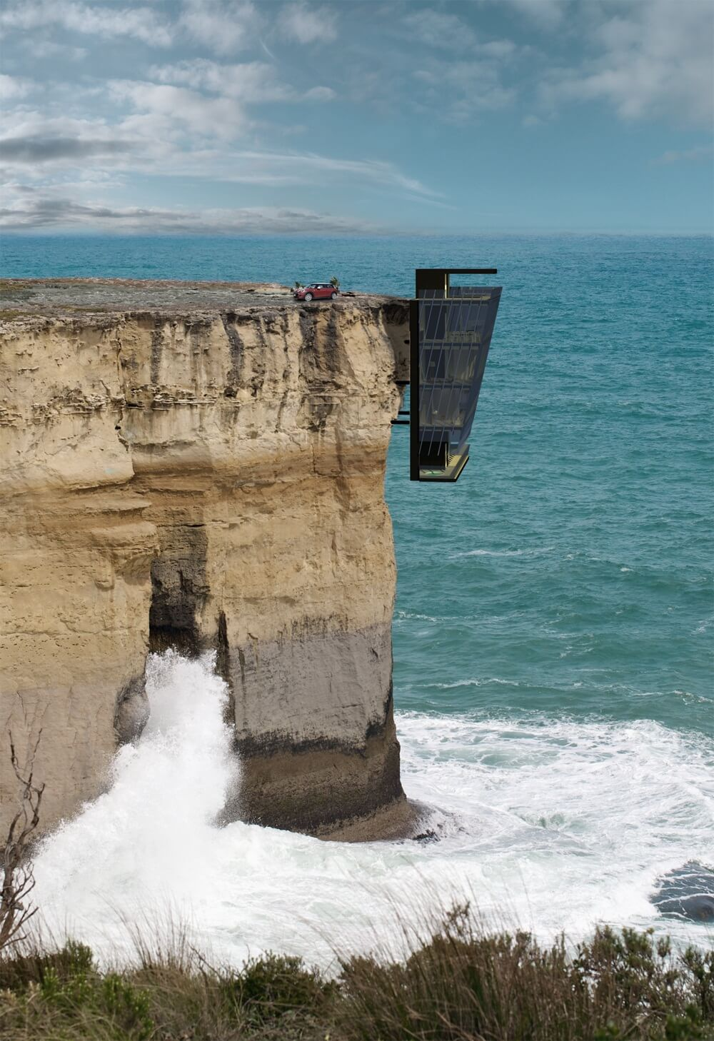 Cliff Edge Home