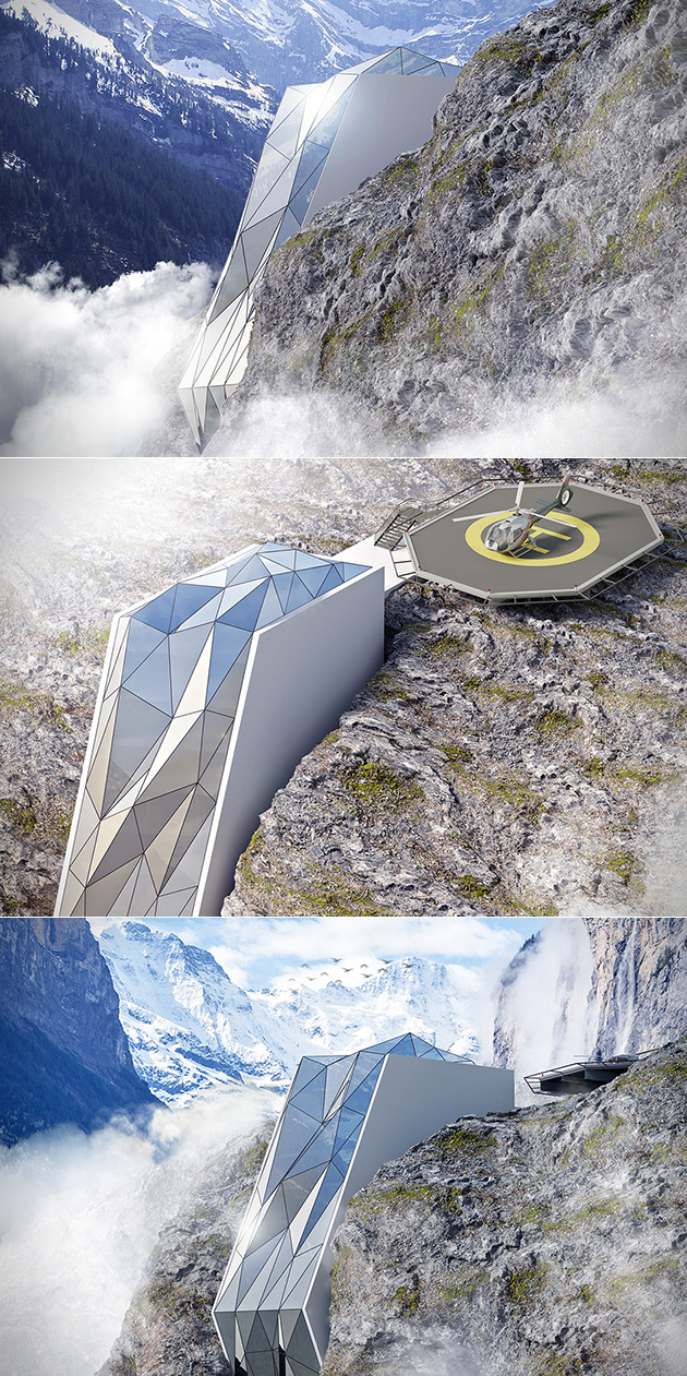 Cliff-Hanging Hotel